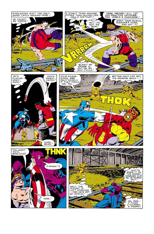 Captain America (1968) Issue #317 #245 - English 22