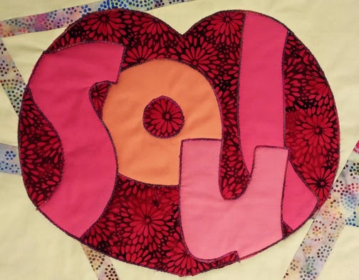 Fast-Piece Applique by Rose Hughes