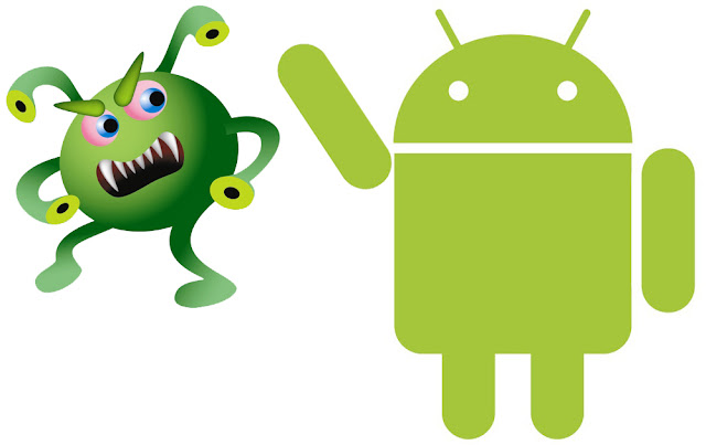 Virus Attacking Android