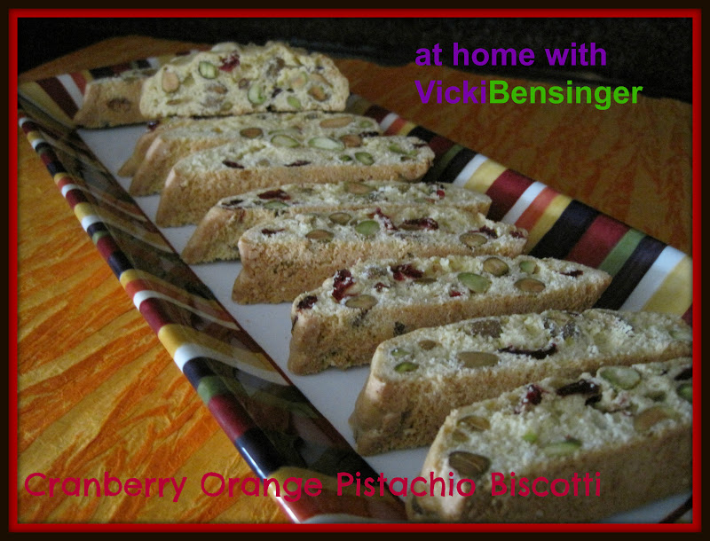 ... like doing is baking cakes cookies pies and biscotti i love biscotti