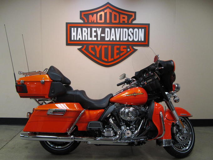 Flhtk Electra Glide Ultra Limited Tequila Sunrise H D Orange Harley Davidson Gallerylarge