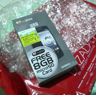 Lazada Myphone Uno  pack