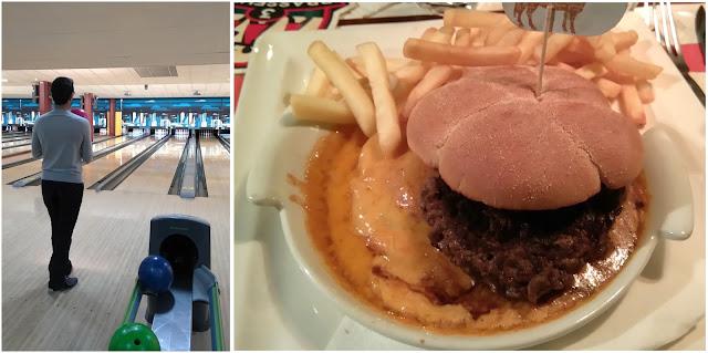 bowling, restaurant, 3 brasseurs, burger, bullelodie
