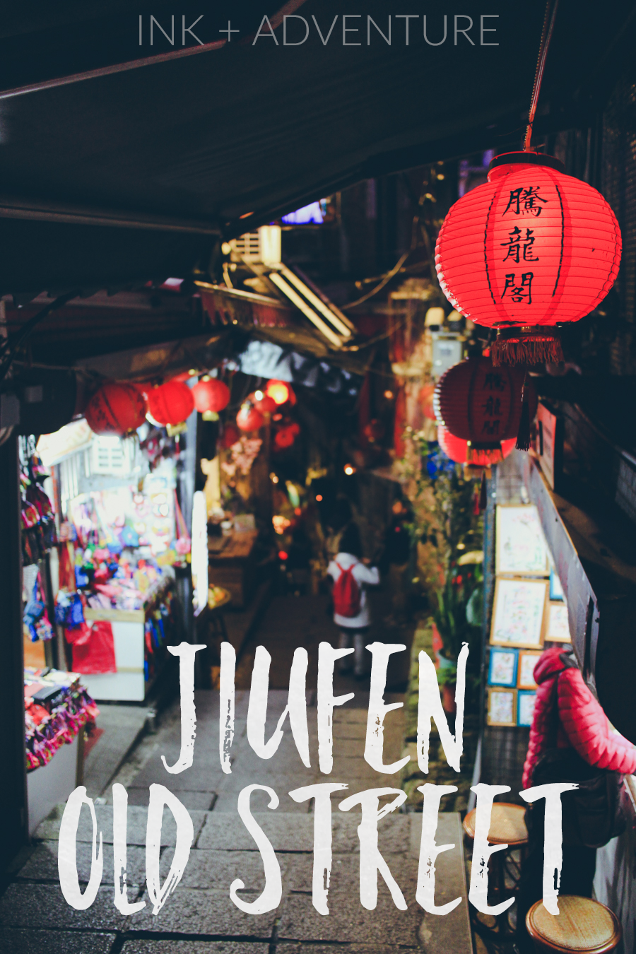 Jiufen Old Street | wander through magical alleyways lined with red lanterns, filled with shops and stone stairways, local Taiwanese delicacies and famous tea houses.