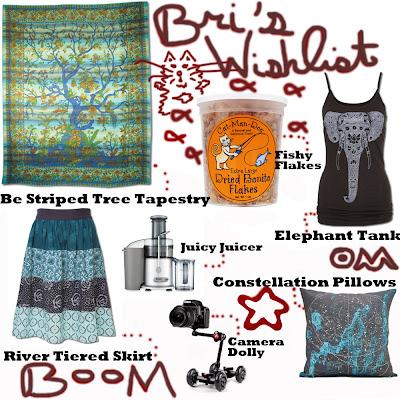 Bri's Wishlist - The Eccentric's Wishlist