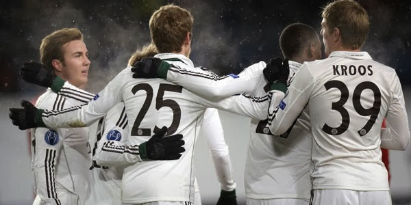 Video Gol CSKA Moscow vs Bayern Munchen 28 November 2013
