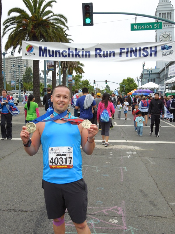 After San Francisco Marathon 2012
