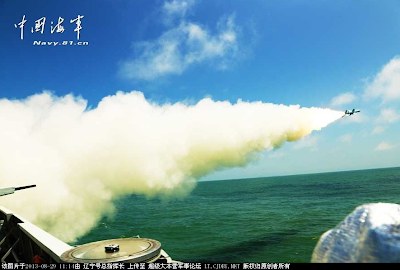 Type 056 Test Fires YingJi-83 Missiles