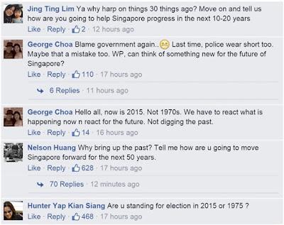 luke koh tiong yee criticised
