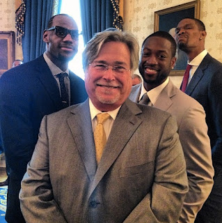 Chris Bosh Funny Photo at White House