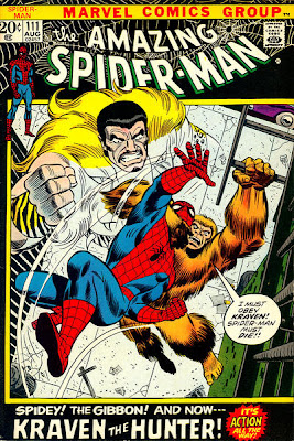 Amazing Spider-Man #111, Kraven and the Gibbon