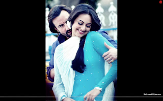 Hot Sonakshi Sinha, Saif Ali Khan Wallpaper