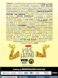 Vive Latino 2012 Bandas