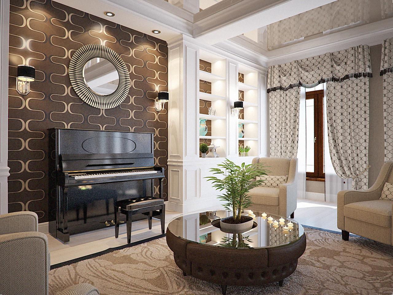 Transitional interior. Svetlana Roma Design