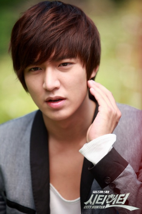 I Min Sun: [Photo] Lee Min Ho City Hunter BTS Pics (