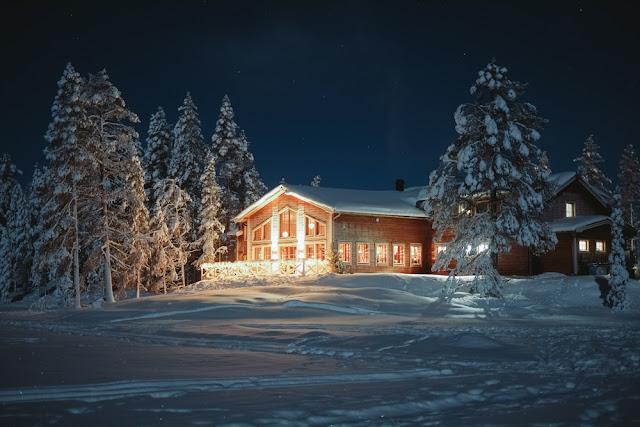 Pinetree Lodge, Sarkimukka, Zweeds Lapland