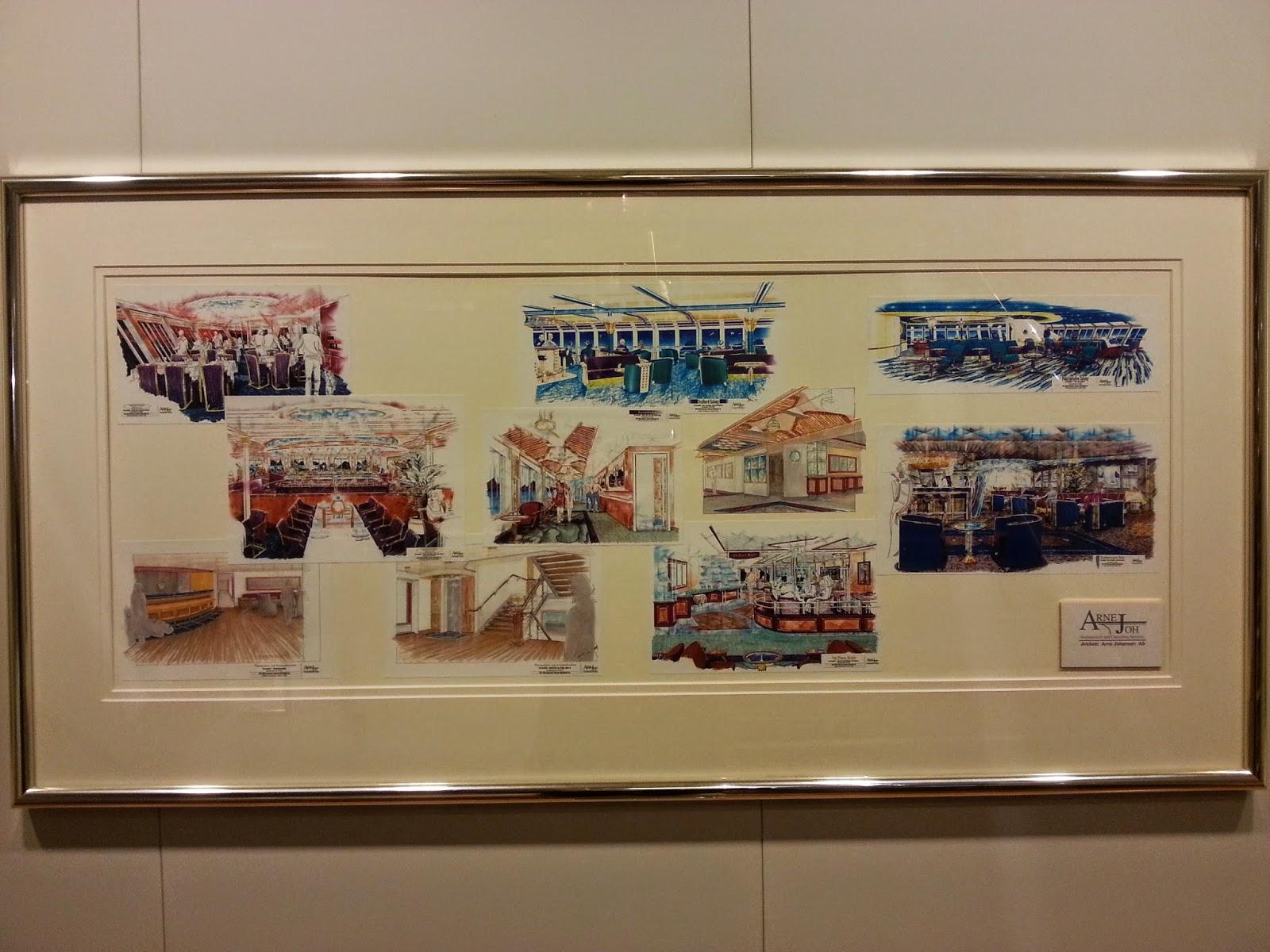 Hurtigruten MS Nordkapp - Original Designs