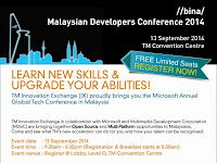 Malaysian Developers Conference 2014