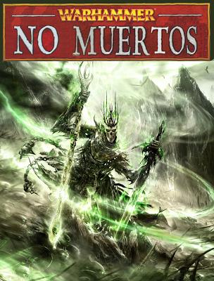 Portada del Libro de ejército de No Muertos para la Octava Edición de Warhammer