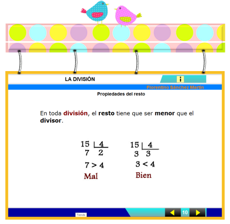 http://cplosangeles.juntaextremadura.net/web/edilim/curso_4/matematicas/division_4/division_4.html