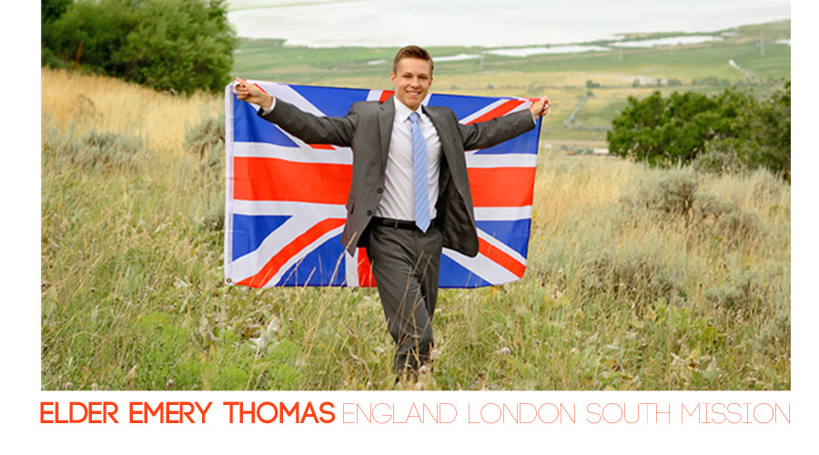 Elder Thomas - England London South Mission