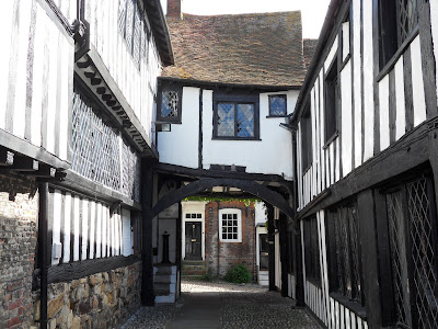 The old houses and streets of Rye