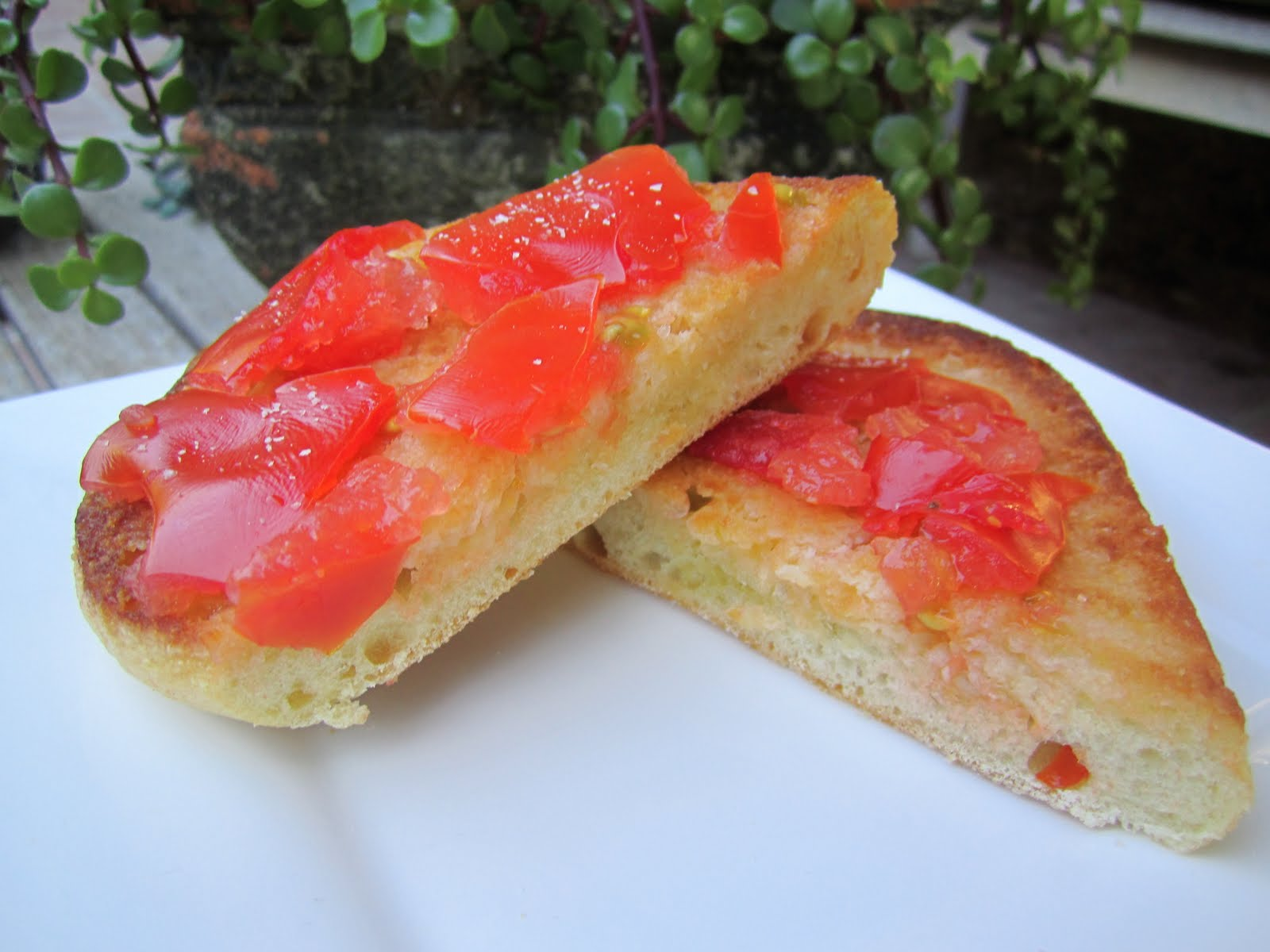 The Walsh Cookbook: Pan Con Tomate/Tomato Bread - Caity