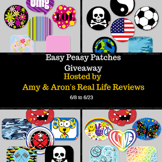 Enter the Easy Peasy Giveaway. Ends 6/23