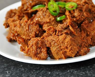 Resep Membuat Rendang Daging Sapi Spesial Lebaran
