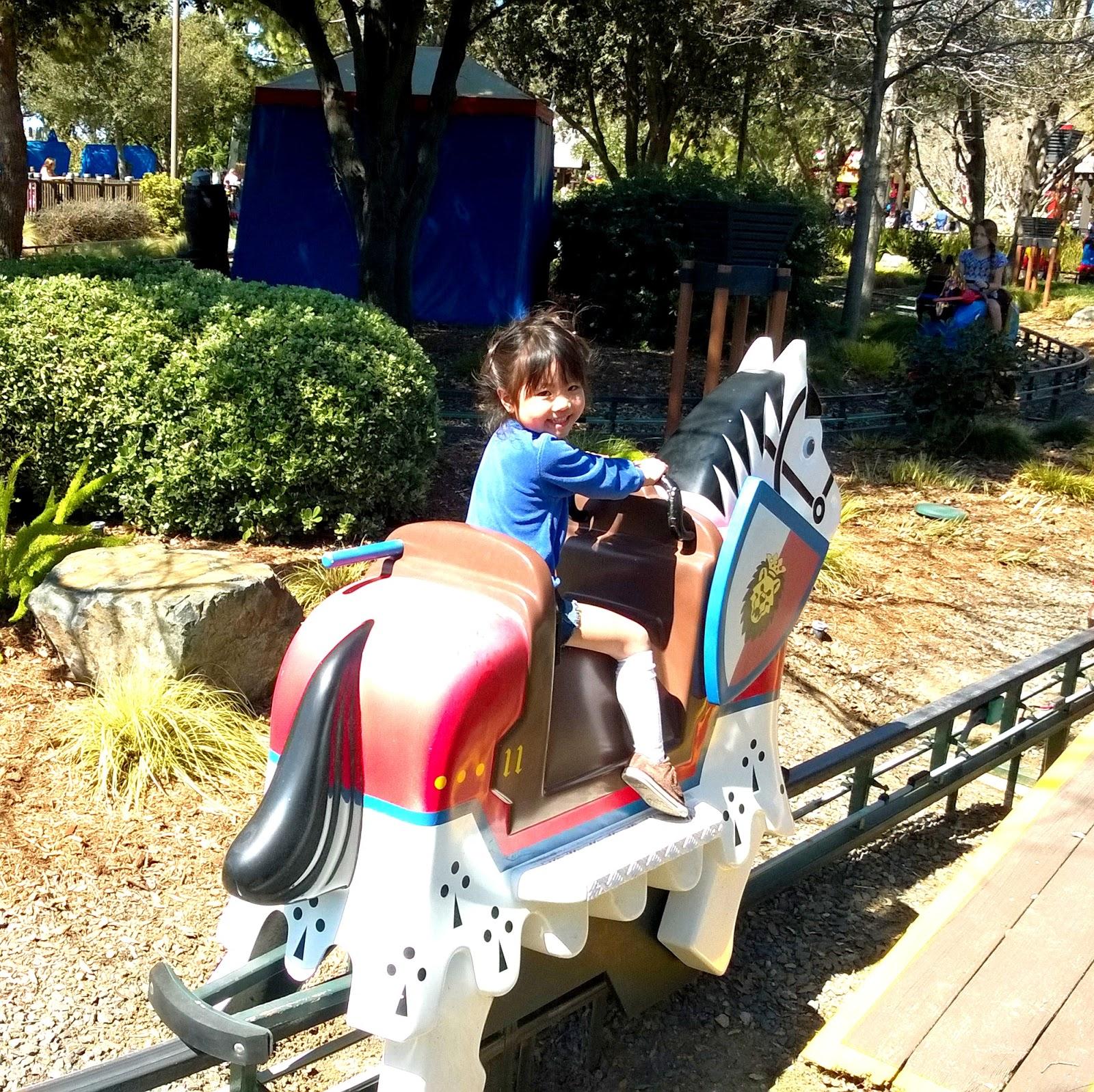 Legoland California royal joust