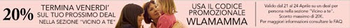 Codice promozionale Groupon w la mamma