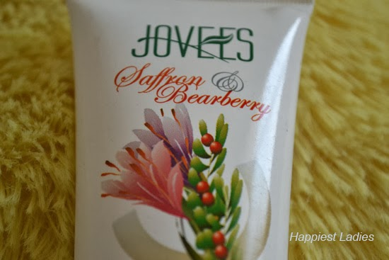 Jovees Saffron & Bearberry Fairness Cream