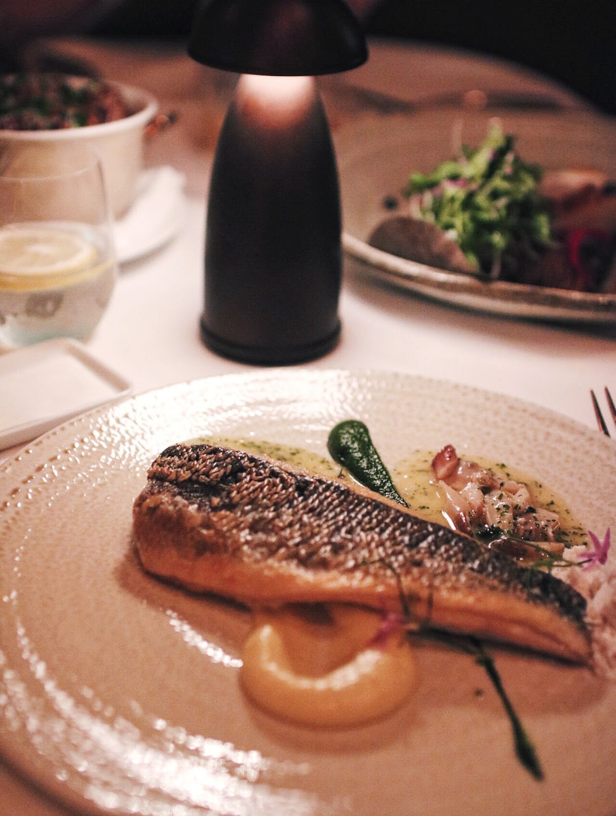 Spago, MBS, Singapore, Sea bass, wolfgang Puck