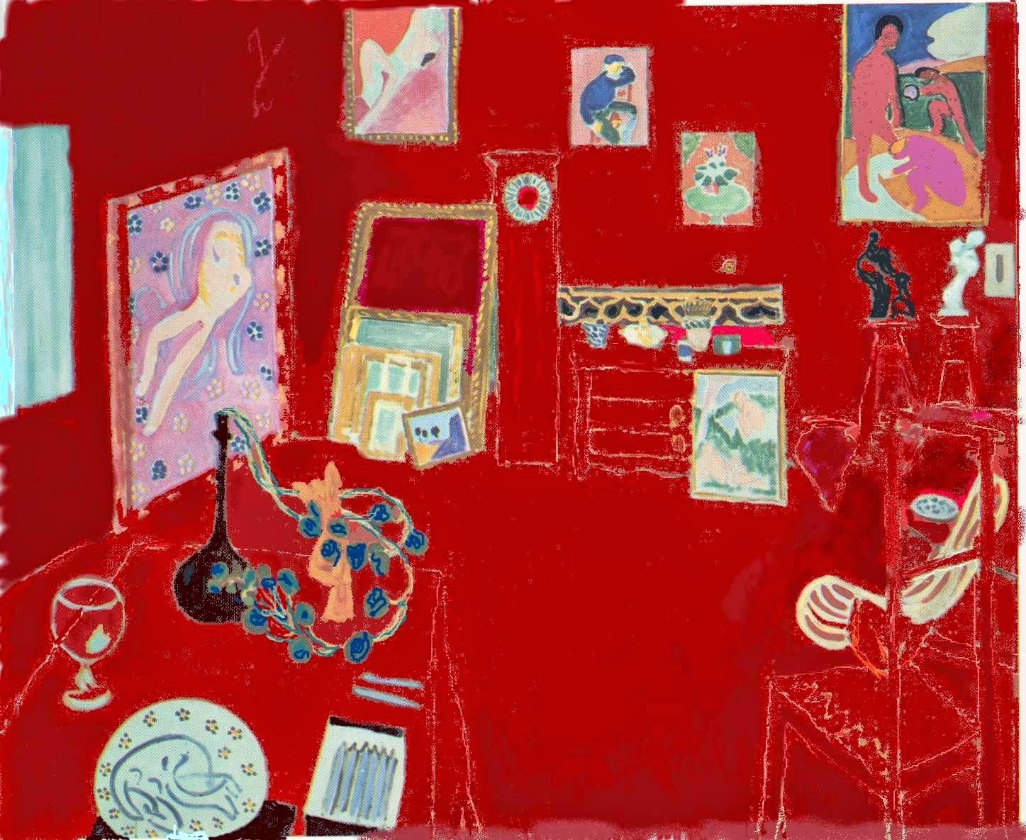 Red Studio by Matisse