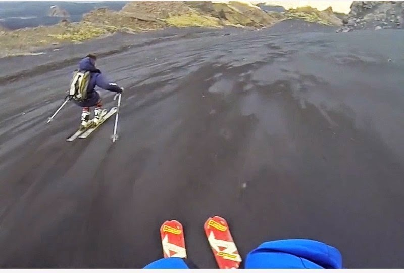 They Ski Down Something Most People Stay AWAY From… And The Footage Is Truly Scary.