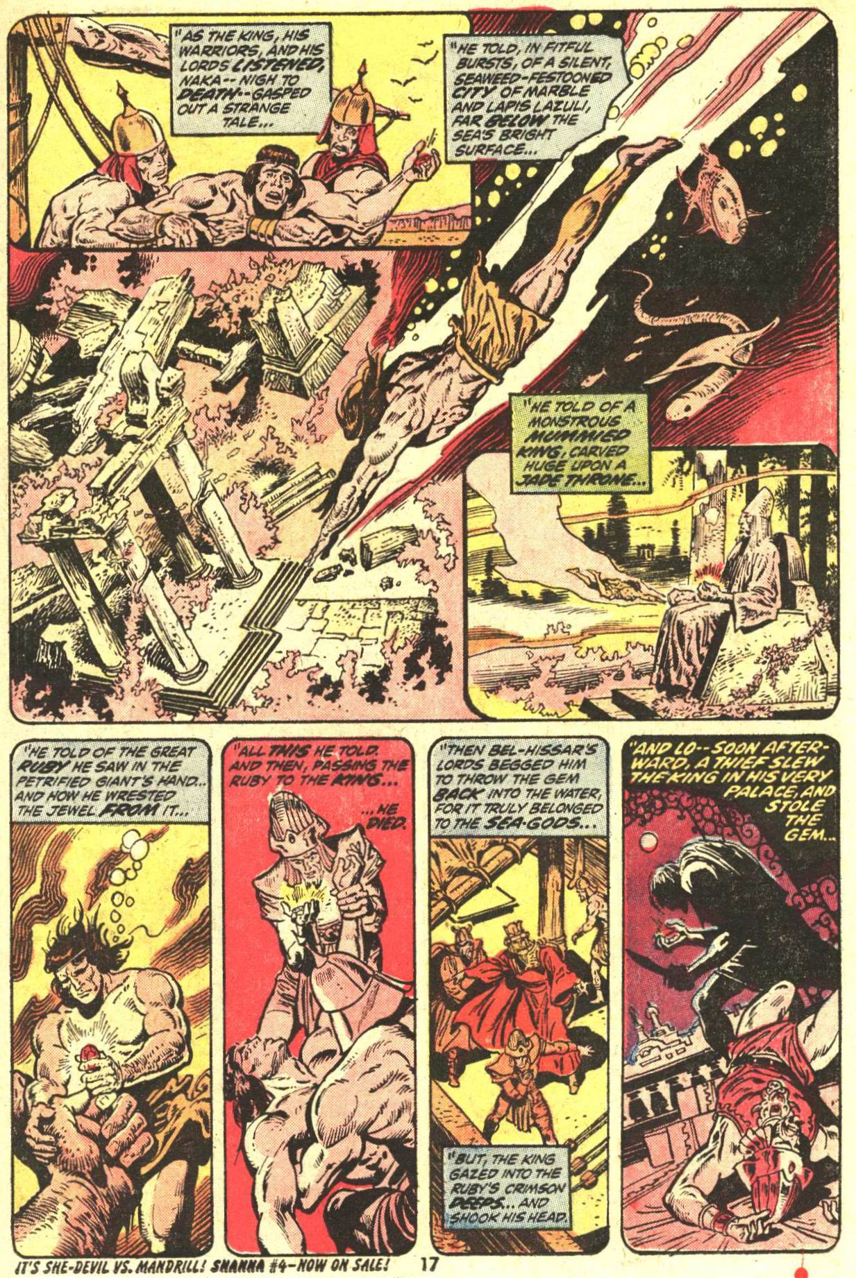 Conan the Barbarian (1970) Issue #27 #39 - English 13