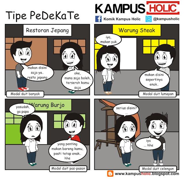 #028 Tipe PeDeKaTe mahasiswa komik kampus holic