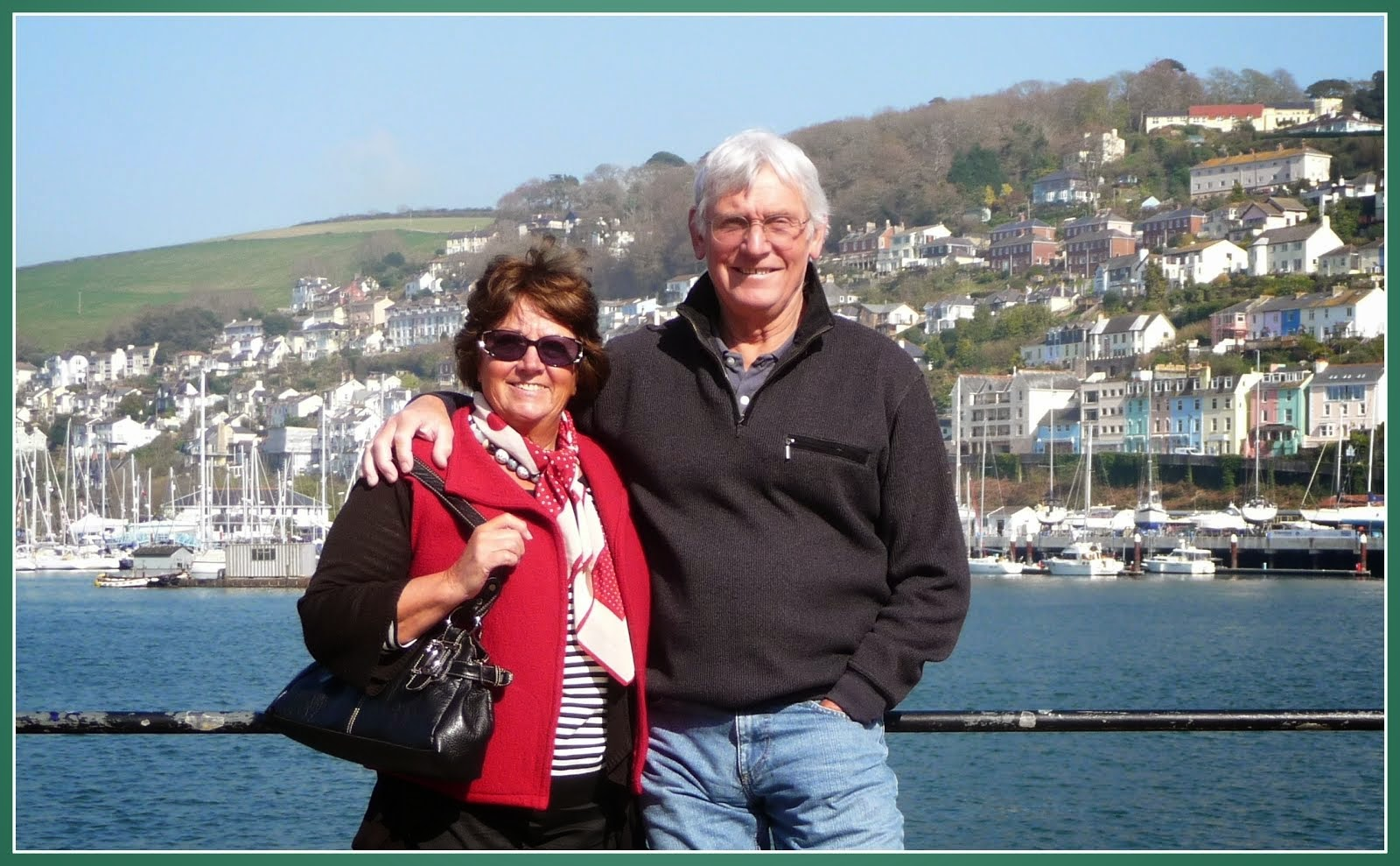 Visit  to Dartmouth England.Where our children were born.