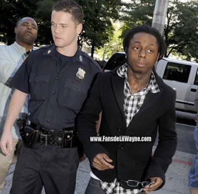 fotos de lil wayne y la policia