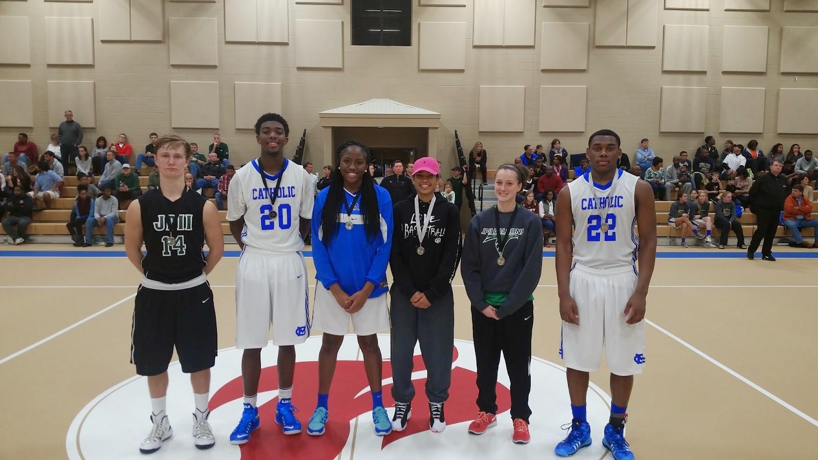 First Catholic Basketball Showcase Hosted at Montgomery Catholic January 3 2