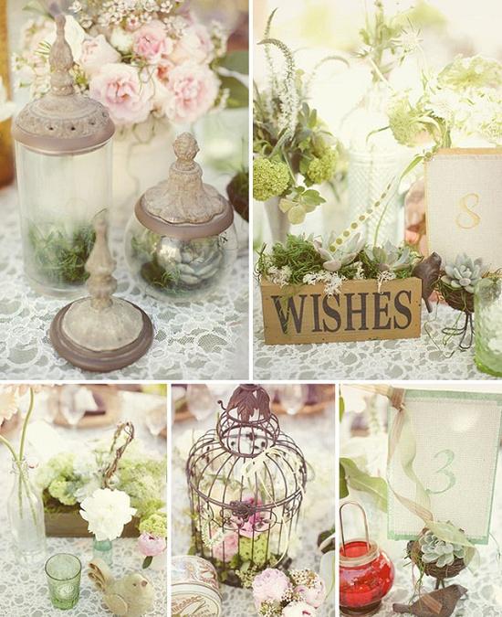 son bodas femeninas delicadas y muy romnticas encajes telas y texturas brocadas cuidados detalles botellas en tonos pastel como rosa o