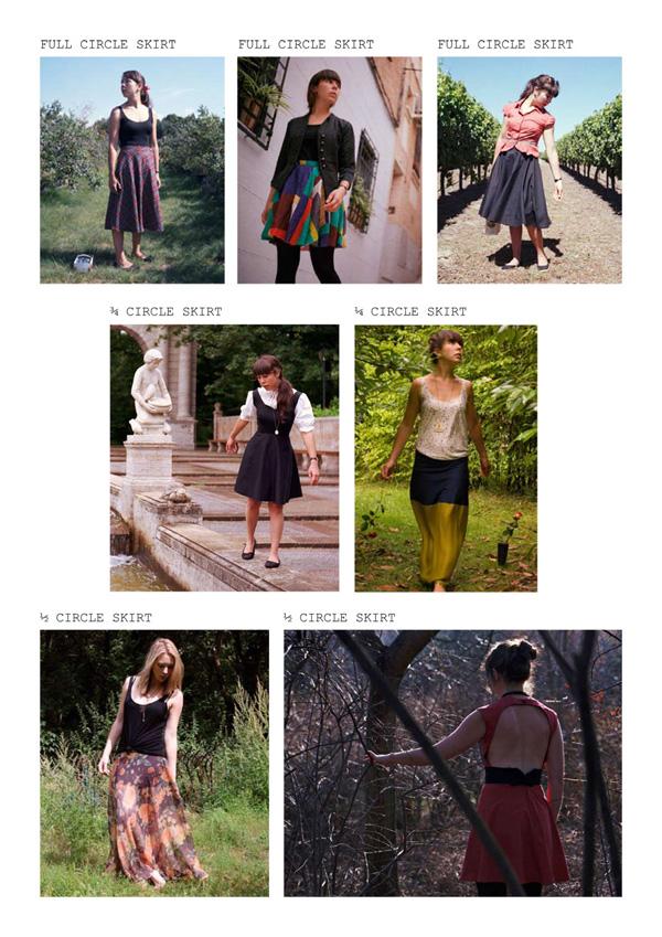 Fickle Sense: How to make a circle skirt: full, 3/4, 1/2, 1/4