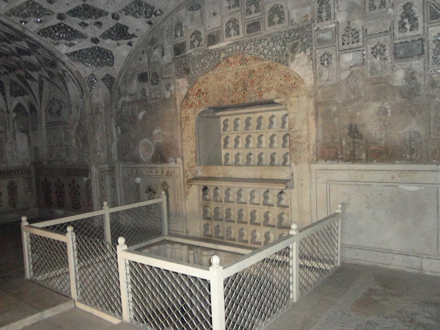 Water heater in Sheesh Mahal at Agra Fort Agra
