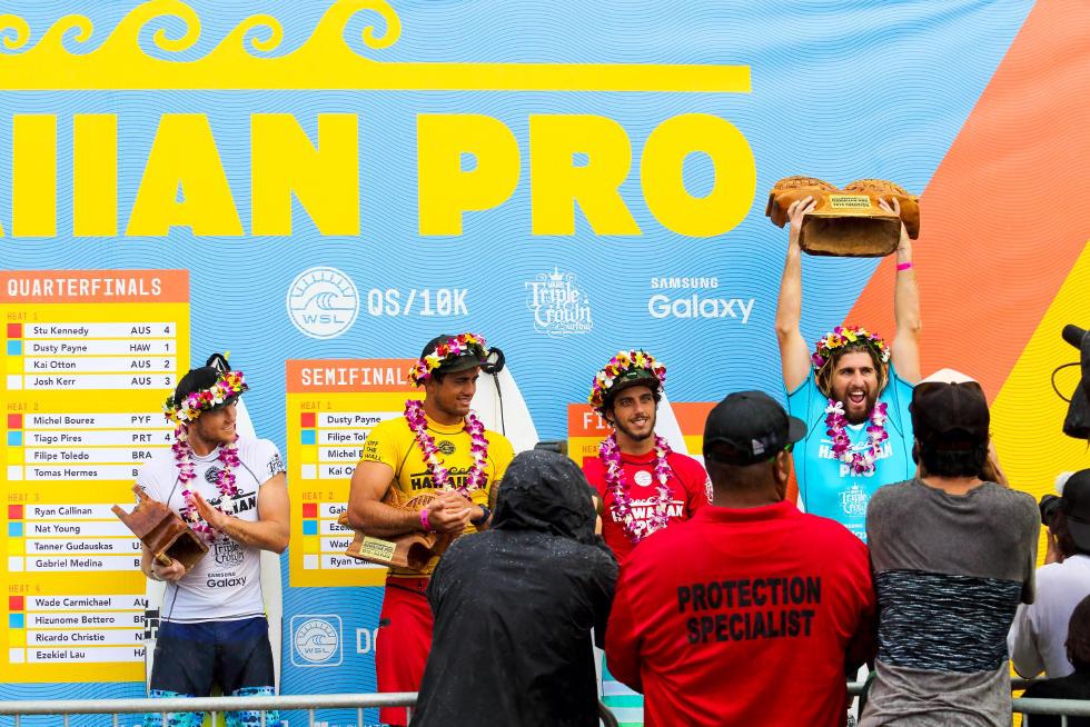 33 Wade Carmichael AUS Hawaiian Pro Triple Corona Fotos WSL tony heff