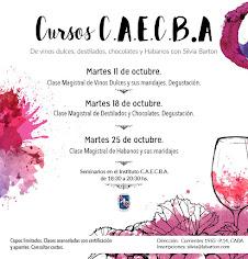 Próximos cursos de Vinos Dulces, Whisky, Habanos y Chocolates dictados por Silvia Barton