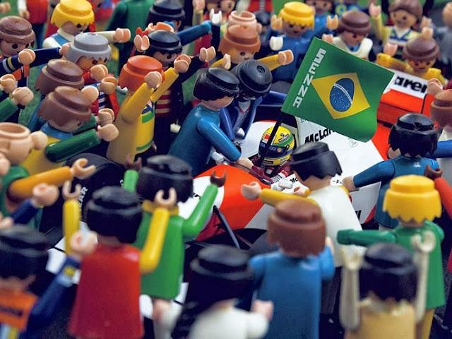 Ayrton Senna foi uma pessoa carismática no Brasil