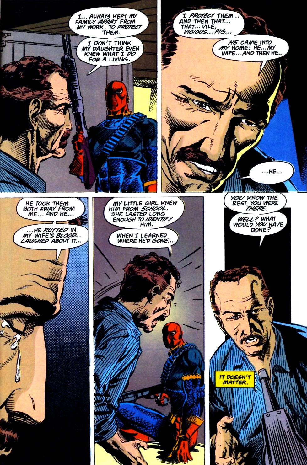 Deathstroke (1991) Issue #23 #28 - English 23