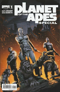 Front cover of Planet of the Apes Special #1 from Boom