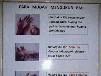 CARA MUDAH  UKUR BMI
