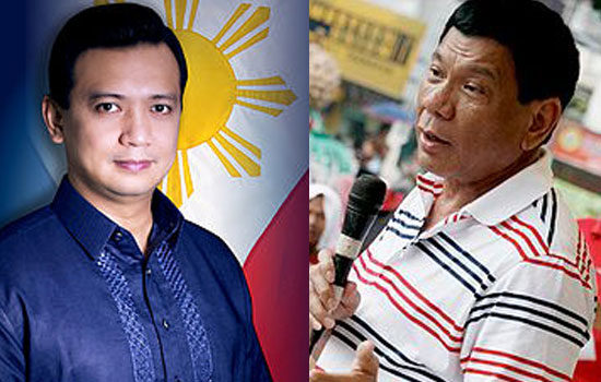 Sen. Trillanes: 'disaster' for the Philippines if Duterte become President
